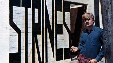 Sweeney at Strines Gallery, Carlton c. 1967 Photographer unknown Heide Museum of Modern Art Archive © Lansdowne Press