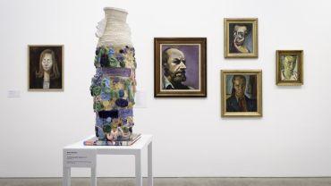 Installation view, Meditation on a Bone: Albert Tucker Beyond the Modern Photograph: Christian Capurro