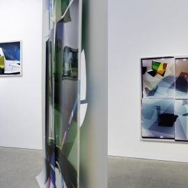 Installation view, Danica Chappell: Thickness of Time