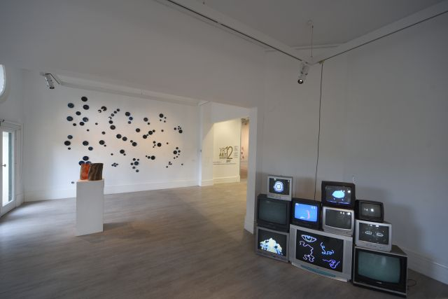 Installation view, Murray Art Museum Albury, Year 12 Art Show, 2017.