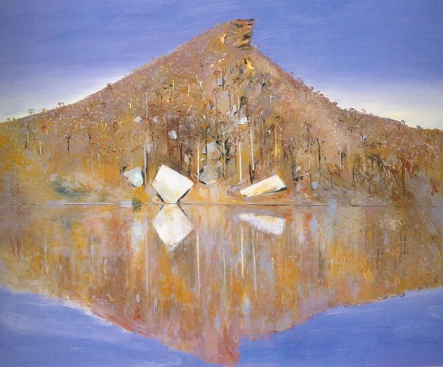 Arthur Boyd, Australia (1920-1999), Mid-Day, Pulpit Rock Version II (detail) 1983 Oil on canvas, donated by The Bank of Melbourne