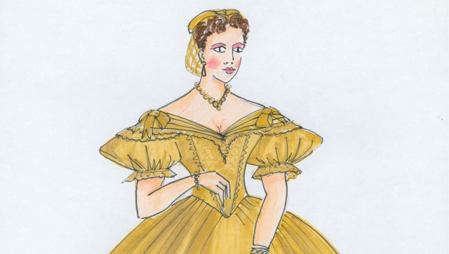 Costume design by Roger Kirk for The King and I, John Frost and Adelaide Festival Centre, 1996  Gift of Roger Kirk, 2014 Arts Centre Melbourne, Australian Performing Arts Collection