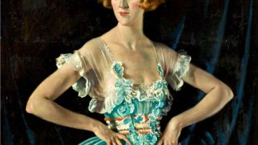 Image: Sir William Newenham Montague Orpen RA, Mrs Ruby Melvill (detail), 1920. Oil on canvas. Photo from MAC Archives.