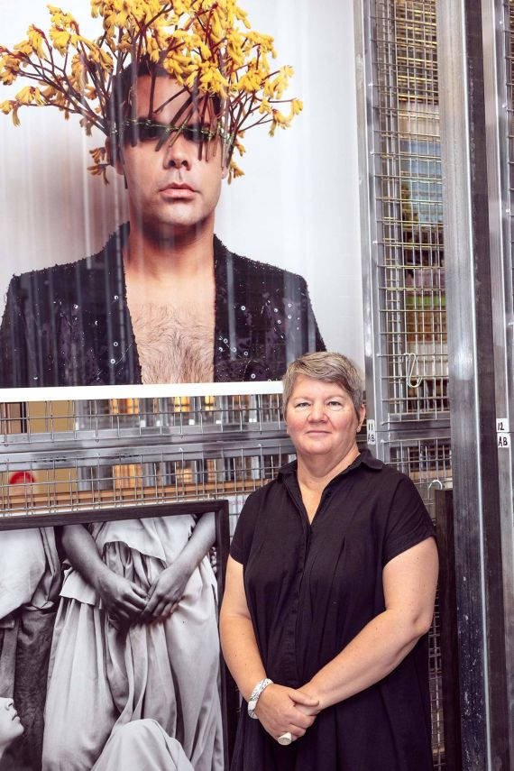 Brenda Wellman, the new Gallery Director at Horsham Regional Art Gallery. Photograph: Luke Hobbs.