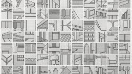 Madeleine Joy Dawes, (Detail) Re-build, 2018, pen on cotton rag, 150 x 150cm, Courtesy of the artist.