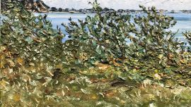 Jean Langley, Untitled n.d, oil on canvas. Courtesy of the artist's estate.