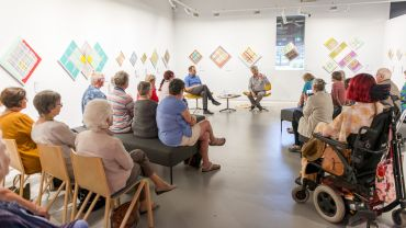 Gippsland Art Gallery Mathew Thomas Conversation Series 1FEB19