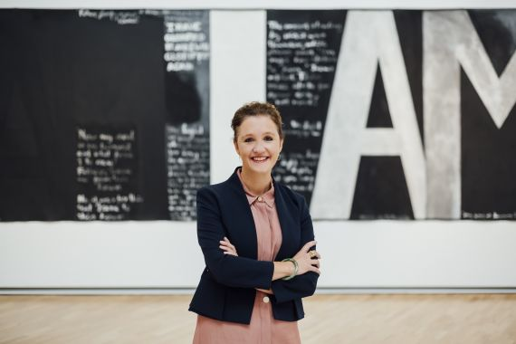 Image: New Auckland Art Gallery Director Kirsten Paisley