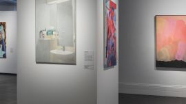 Image: Installation view of the 2018 Bayside Acquisitive Art Prize, Bayside Gallery, Melbourne.