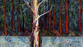 Peter Biram, Gembrook landscape, 2016, oil on canvas
