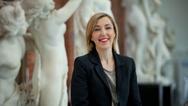 Jessica Bridgfoot Bendigo Art Gallery Director medium