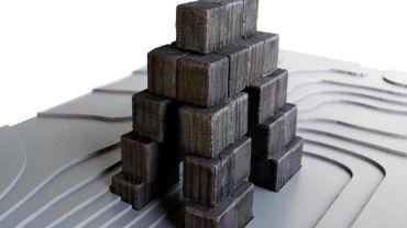 Simon Finn Dwell Structure (assemblage)